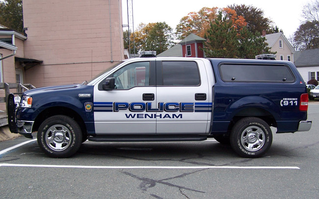 Wenham Police Truck Cape Ann Sign amp Screen